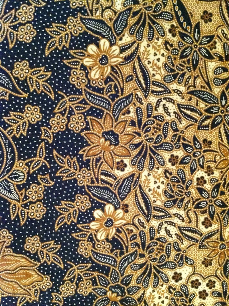flower pattern, most likely pesisir batik/nyonya batik