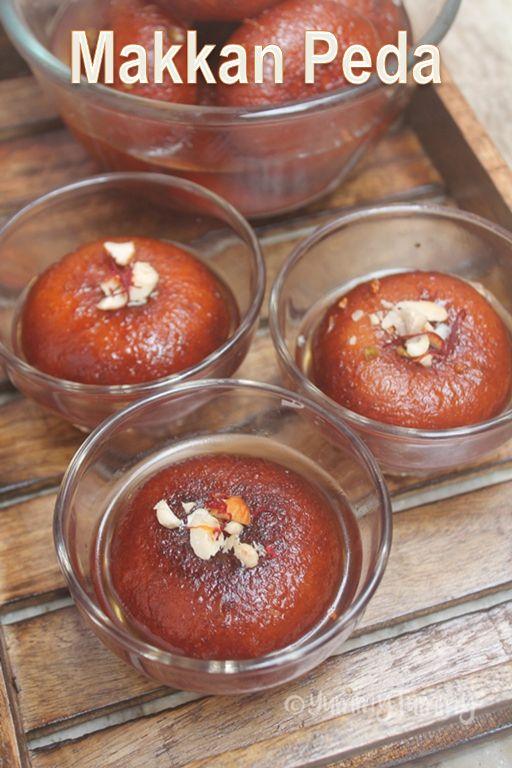 How to Make Makkan Peda - Arcot Makkan Peda Recipe
