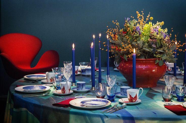 Royal Copenhagen fejrer 50 år med storslåede juleborde | Bobedre.dk