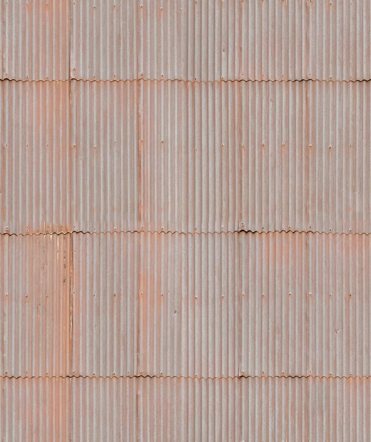 Rusted Tin Roof Seamless Texture Tin Roof Roof