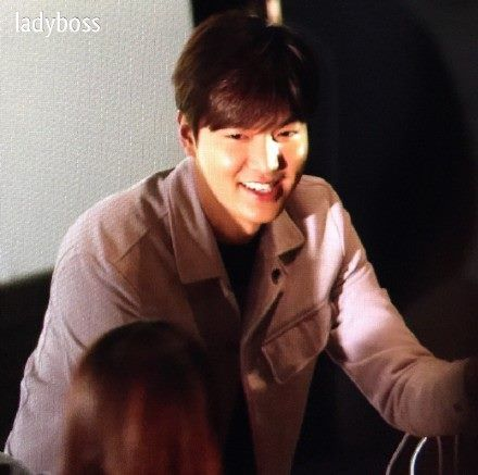 Stage greeting for Gangnam 1970, 20150131.