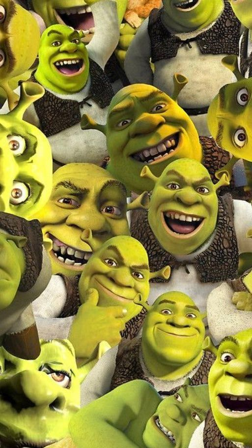 Shrek Wallpaper (not mine) Funny Iphone Wallpaper, Disney Wallpaper, Fiona Y Shrek, Shrek Memes, Stunning Wallpapers, Photo Wall Collage, Cute Cartoon Wallpapers, Reaction Pictures, Haha Funny