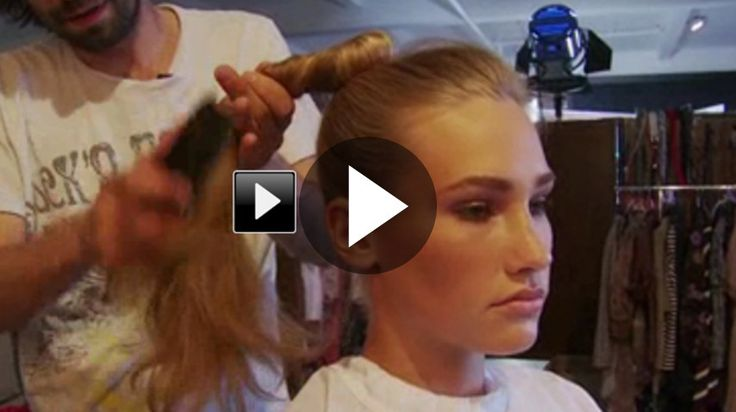 L'esperto di bellezza e di capelli di Persona ci spiega come rendere icapelli ondulati con un semplice trucco.  L'acconciatura che vedrete nel tutorial è molto facile...