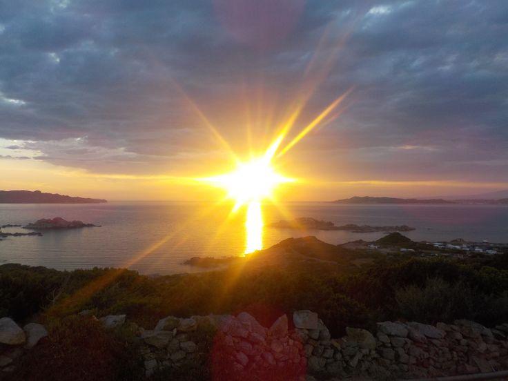A La Mddalena sunset, summer 2014