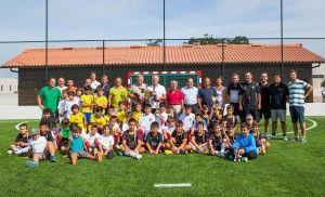 Torneio inaugura relvado sintético em Amorim