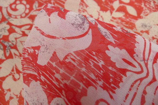 Red Bordeaux - Silk - Tessuti Fabrics - Online Fabric Store - Cotton, Linen, Silk, Bridal & more