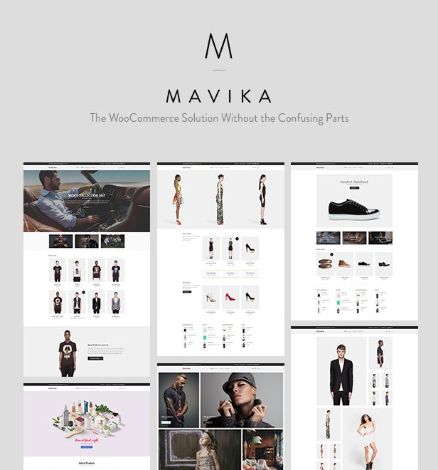 Download Mavika  WooCommerce Shop Theme (WooCommerce)  Mavika is a flexible eshop template specifically built around WooCommerce. It provides all the tools needed to create an online shop of any size. Its minimal layout aesthetics will provide emphasis to what matters the most your products. A carefully selected set of customizer options will help you set things up in no time. No coding involved. Not ready to sell? No problem Mavika provides a Catalog Mode option that lets you build a…