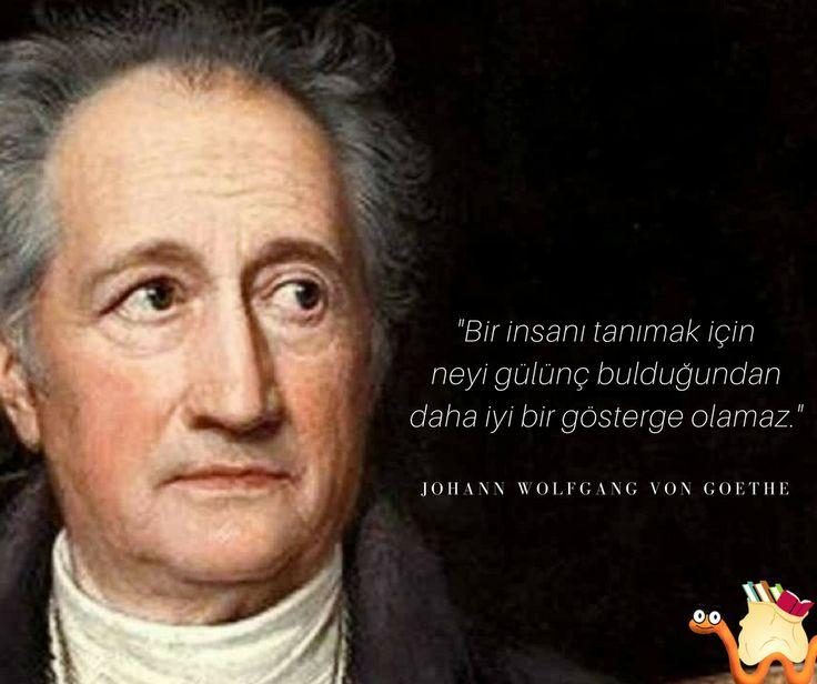 Bir insanı tanımak için neyi gülünç bulduğundan daha iyi bir gösterge olamaz.  - Johann Wolfgang von Goethe  #sözler #anlamlısözler #güzelsözler #manalısözler #özlüsözler #alıntı #alıntılar #alıntıdır #alıntısözler #şiir #edebiyat