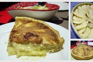 Tarte Sucrée/Salée Pommes, Époisses, Sainte Maure de Touraine
