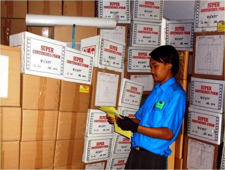 Percetakan Continuous Form Karawang Suryacipta KIIC Jababeka Bekasi untuk Invoice Surat Jalan Dll