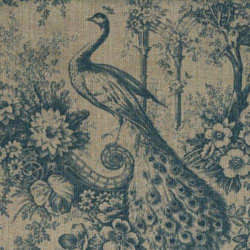 100% Linen Peacock Print Fabric - Blue | Authentic French... https://www.amazon.com/dp/B00K1DWITW/ref=cm_sw_r_pi_dp_x_DdC8xbM1KCA2B