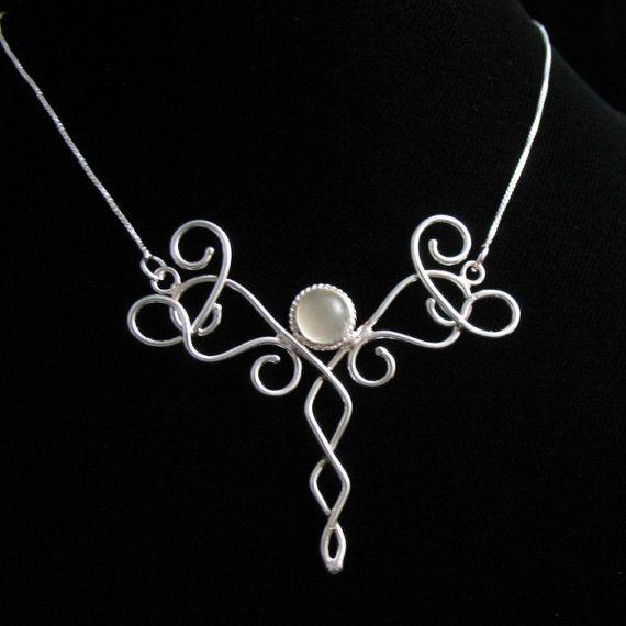 celtic moonstone necklace - 570×570
