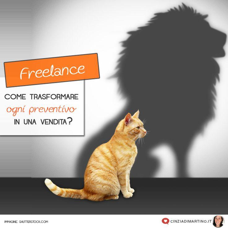 Sei un Freelance. Sai fare bene il tuo lavoro ma per trasformare ogni preventivo in una vendita devi imparare dalla giusta guida e fare pratica!