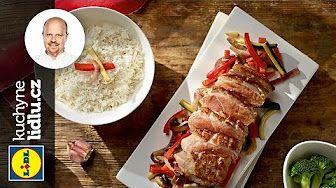 Pečená kachna s restovanou rýží - Roman Paulus - RECEPTY KUCHYNE LIDLU - YouTube