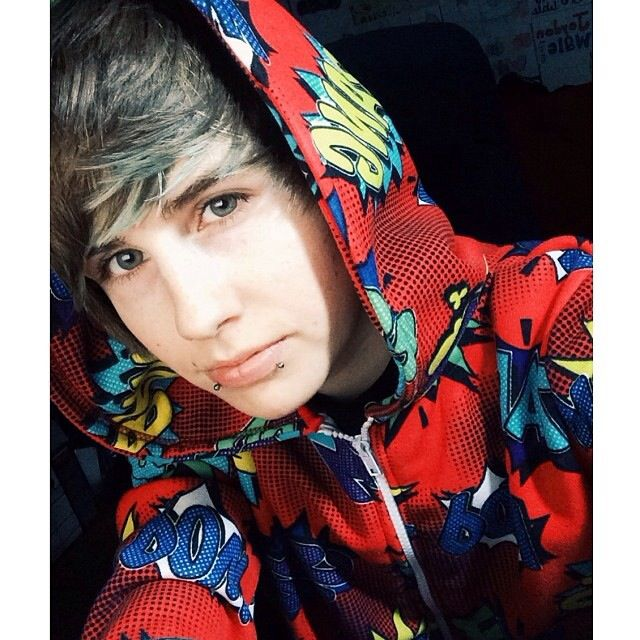 "|Logan| ""Comic onesies are the best onesies."""