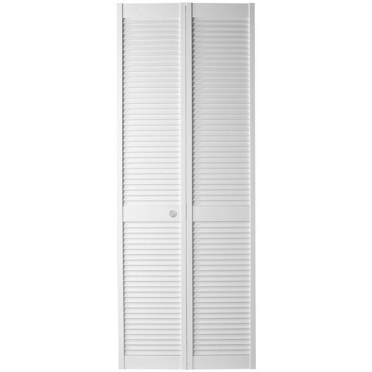 ReliaBilt White Full Louver Bi Fold Closet Interior Door (Common: X Actual:  X At Loweu0027s. This Full Louver Pine Interior Slab Door Is A Classic Style  And ...
