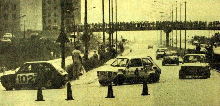ul. Armii Krajowej skręt w Bohaterów Monte Cassino, lata 80. XX w. źródło; uranium