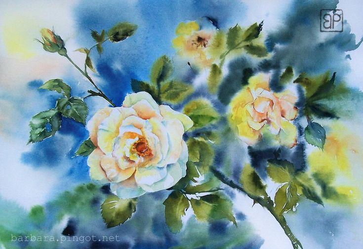 Energetic roses by stokrotas (Barbara Pingot)
