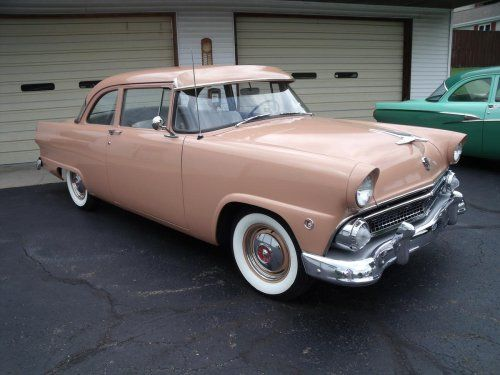 1955 Ford Mainline Tudor Sedan & 306 best FORD 1955 u002756 images on Pinterest | Ford fairlane ... markmcfarlin.com
