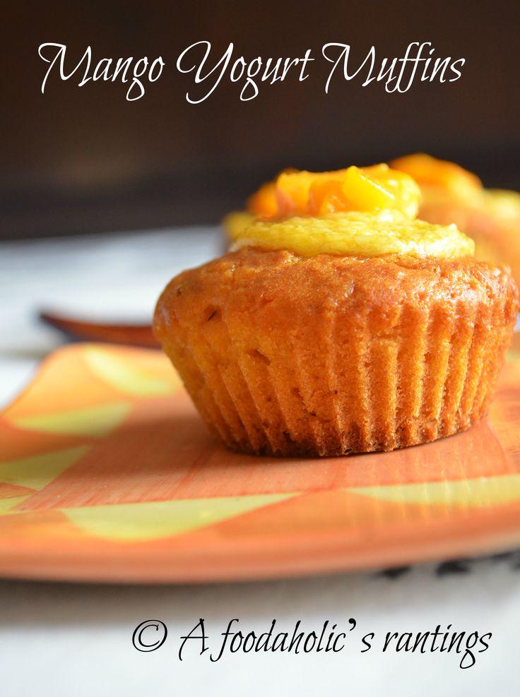 mango yogurt muffins