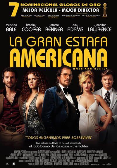 La Gran Estafa Americana (American Hustle) - Estreno en cines el 31 de Enero 2014