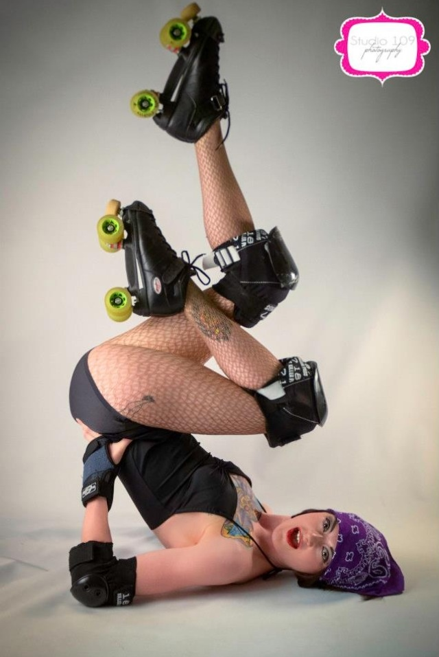 Roller derby pin up tattoos