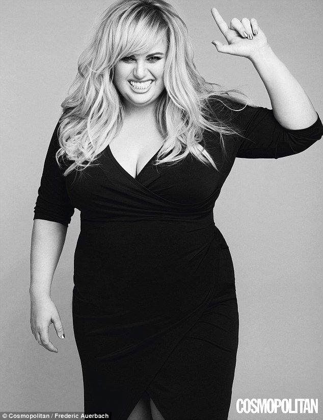 Fit and fabulous: Rebel Wilson, 35, has admitted to working out five time a week with the ...