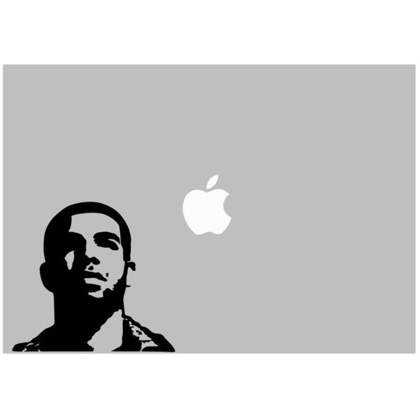 Drake Thank Me Later decal For Laptop, Car etc.. ($9.99) ❤ liked on Polyvore featuring accessories and tech accessories