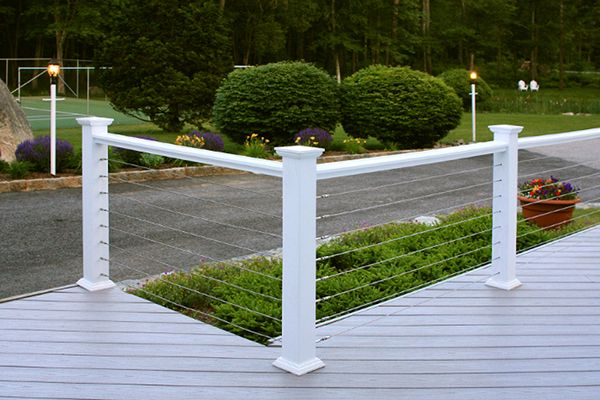 Diy Cable Railing System Stainless Cable Railing With | Cable Stair Railing Diy