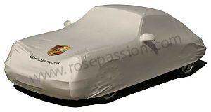 Rose Passion - P2673 - 00004320202 - HOUSSE DE VOITURE AVEC AILERON ARRIERE FIXE AVEC ECUSSON PORSCHE DE COULEUR - Porsche 911 65-73 1969 2.0E COUPE BOITE AUTO > CARROSSERIE > HOUSSE DE VOITURE POUR L INTERIEUR