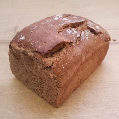 žitný chléb - 100% žitné mouky