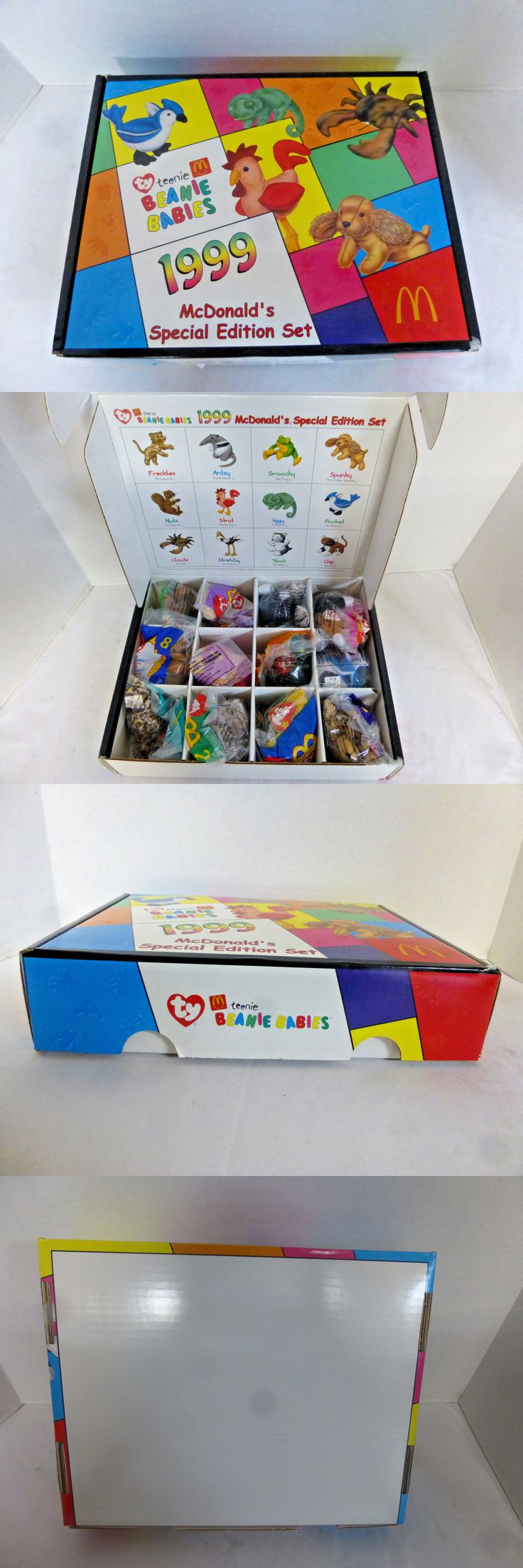 Teenie Beanies 441: 1999 Mcdonald S Happy Meal Collector Box Set Ty Teenie Beanie Babies New In Box -> BUY IT NOW ONLY: $34.95 on eBay!