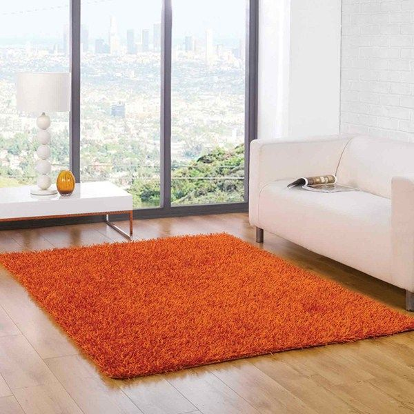Spider Shaggy Rugs In Orange Buy Online From The Rug Seller Uk Part 35