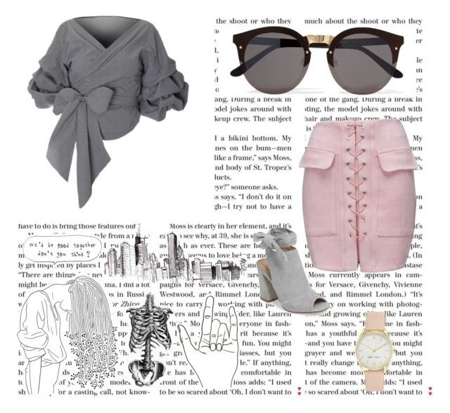 """""""pink"""" by enjalundin on Polyvore featuring Illesteva, WithChic, Kristin Cavallari and Nine West"""