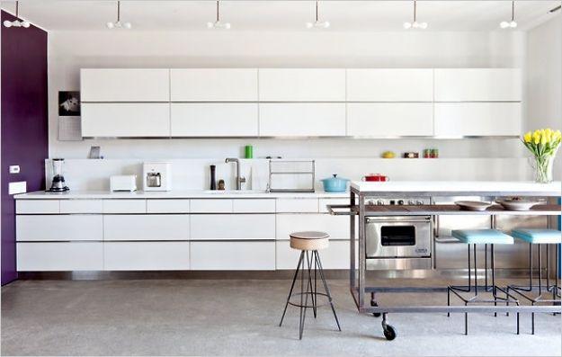 Image Result For Horizontal Cupboards Kitchen Home Kitchens Kitchen Design One Wall Kitchen