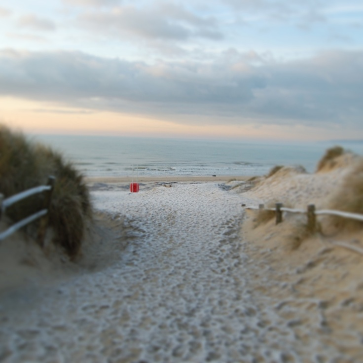 Frosty morning, Camber Sands