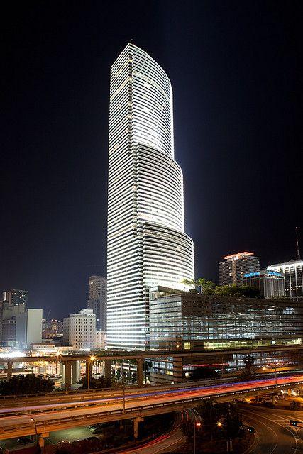 #Miami Tower, Dowhtown Miami, #Florida