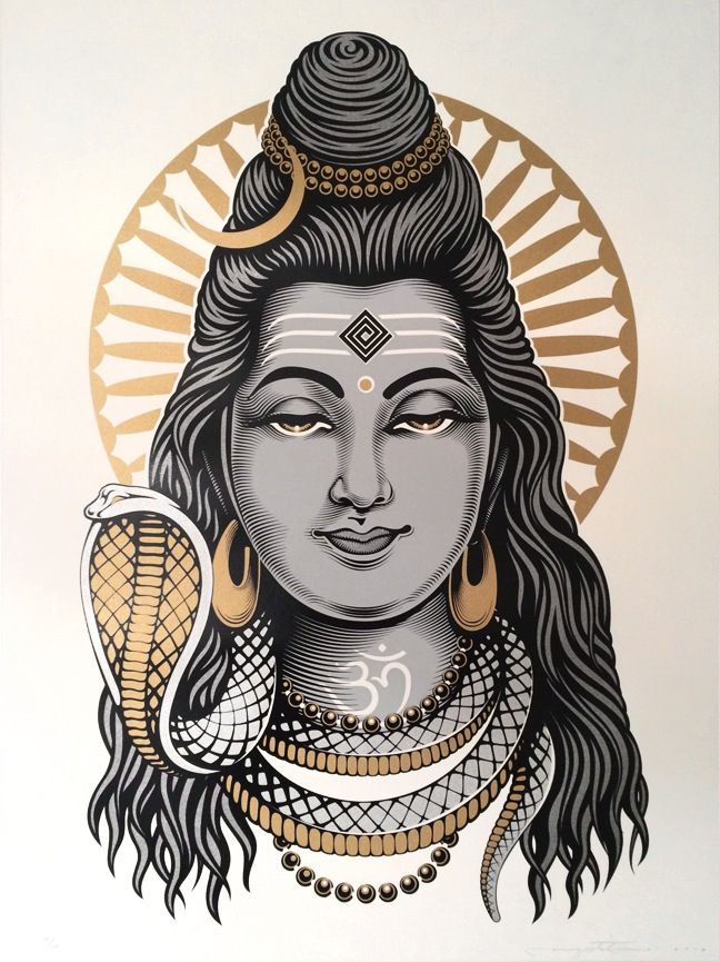 Image of 'LORD SHIVA' | Limited Edition Print