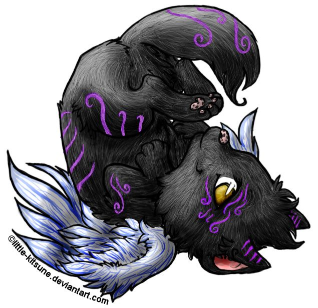 Anime Wolf Pups With Wings Jos