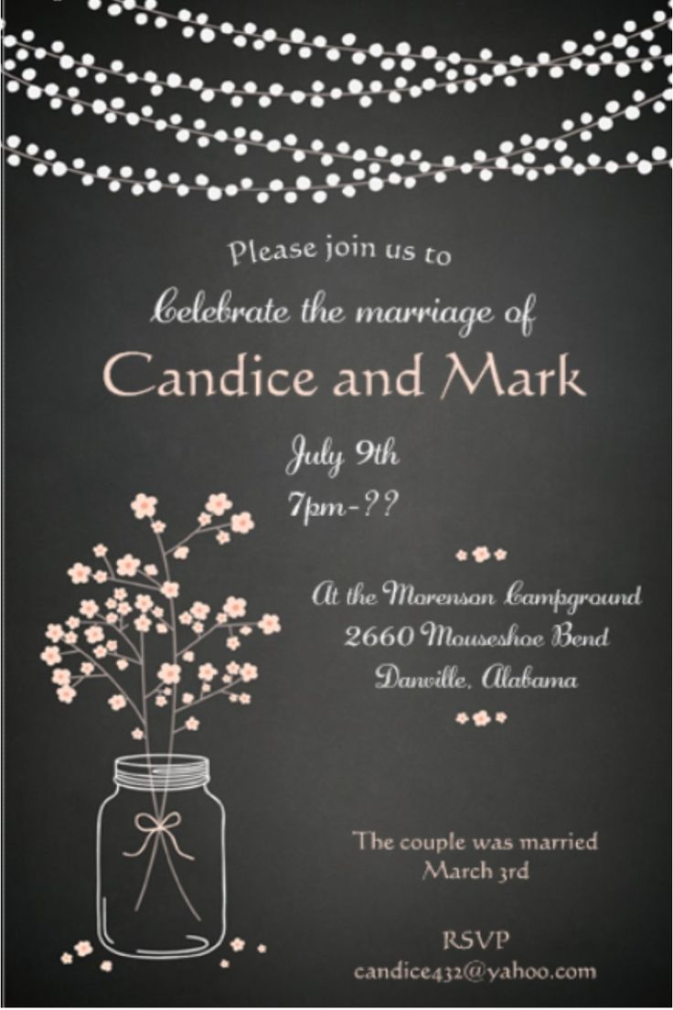 Reception Invitation Wording After Elopement for adorable invitations layout