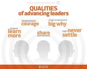 Qualities of Advancing Leaders