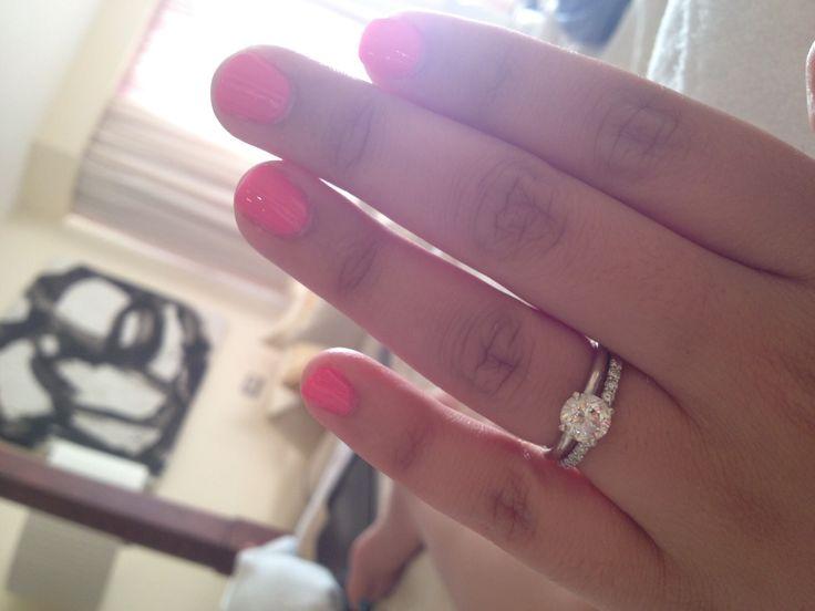Solitaire w/ diamond or plain wedding band - Weddingbee | Page 2