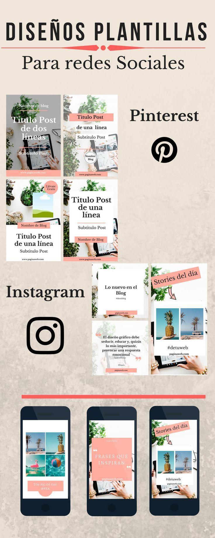 Diseños gráficos para tu Blog | redes,blog y canal | Pinterest ...