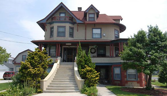 SOLD July 2014 Candlelight Inn. North Wildwood on the Jersey Shore Bed and Breakfast for sale. Classic Queen Anne grand house. Great business and lifestyle. Select Registry. #innforsale
