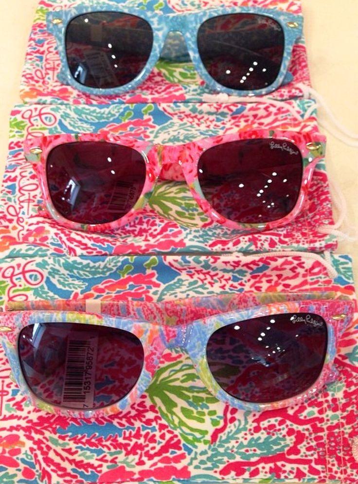 Lilly Pulitzer Madeline Sunglasses via @Julia Richey sorbet Instagram