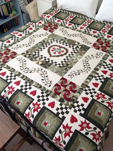 Absolutely beautiful! Log cabin has always been my favorite quilt block