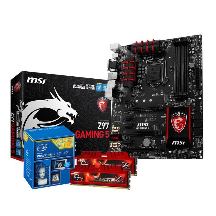 Kit Upgrade PC Core i5 MSI GAMING Z97 8 Go pas cher