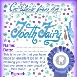 printable tooth fairy letters and certificates