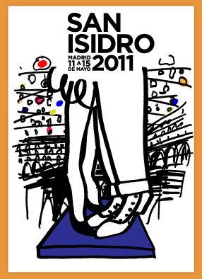 Fiestas San Isidro cartel Jacobo Pérez-Enciso