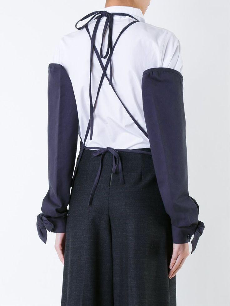 Roberts Wood блузка с открытой спиной